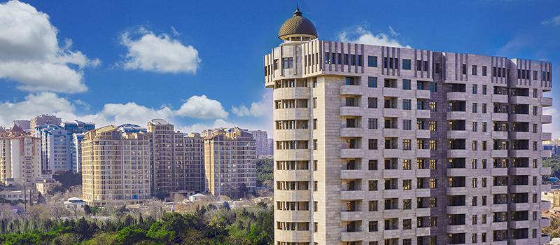 Жилой комплекс «Табриз» предлагает квартиры, обеспеченные полной инфраструктурой